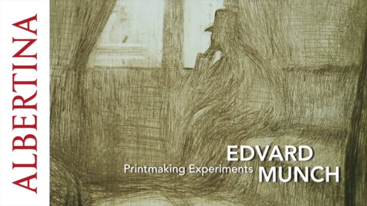 albertina edvard munch printmaking experiments museumsfernsehen. Black Bedroom Furniture Sets. Home Design Ideas