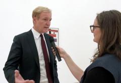 Fondation Beyeler:  Auf der Suche nach 0,10: Interview mit Klaus Albrecht Schroeder