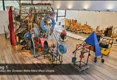 Museum Tinguely: Abbau von Tinguelys Utopia im Zeitraffer