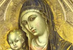 Städel Museum: KunstIStück – Barnaba da Modena: Madonna mit Kind