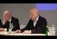 Fondation Beyeler: Medienkonferenz in der Fondation Beyeler: Jean Dubuffet. Sam Keller und Raphaël Bouvier