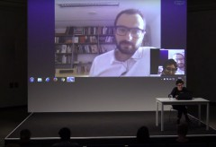 Francesco Manacorda im Gespräch in der Kunsthalle Wien