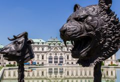 Ai Weiwei's Zodiac Heads at the Belvedere