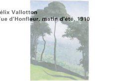 Félix Vallotton – Vue d'Honfleur, matin d'été, 1910