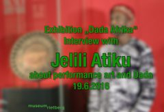 Interview with Jelili Atiku, Parts I & II