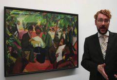 August Macke, Gartenrestaurant – Moderne Meister im Kunstmuseum Bern