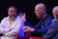 """""""Chinese Challenges"""" Podiumsdiskussion mit Ai Weiwei, Jacques Herzog und Uli Sigg"""