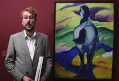 Franz Marc, Blaues Pferd II – Moderne Meister im Kunstmuseum Bern