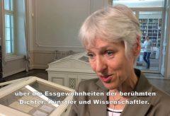 »Sardellen Salat sehr gut« – Ausstellung im Goethe- und Schiller-Archiv