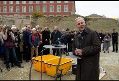 Grundsteinlegung des bauhaus museums weimar 2016