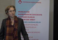 Prof. Dr. Anja Dauschek, neue Direktorin des Altonaer Museums