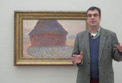 Einführung in die Ausstellung Monet durch Ulf Küster, Kurator Fondation Beyeler
