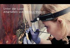 Restaurierungsprojekt im Kunstmuseum Bern: Die Tafelbilder von Niklaus Manuel