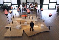 Klanginstallation von Dimitri de Perrot im Museum Tinguely
