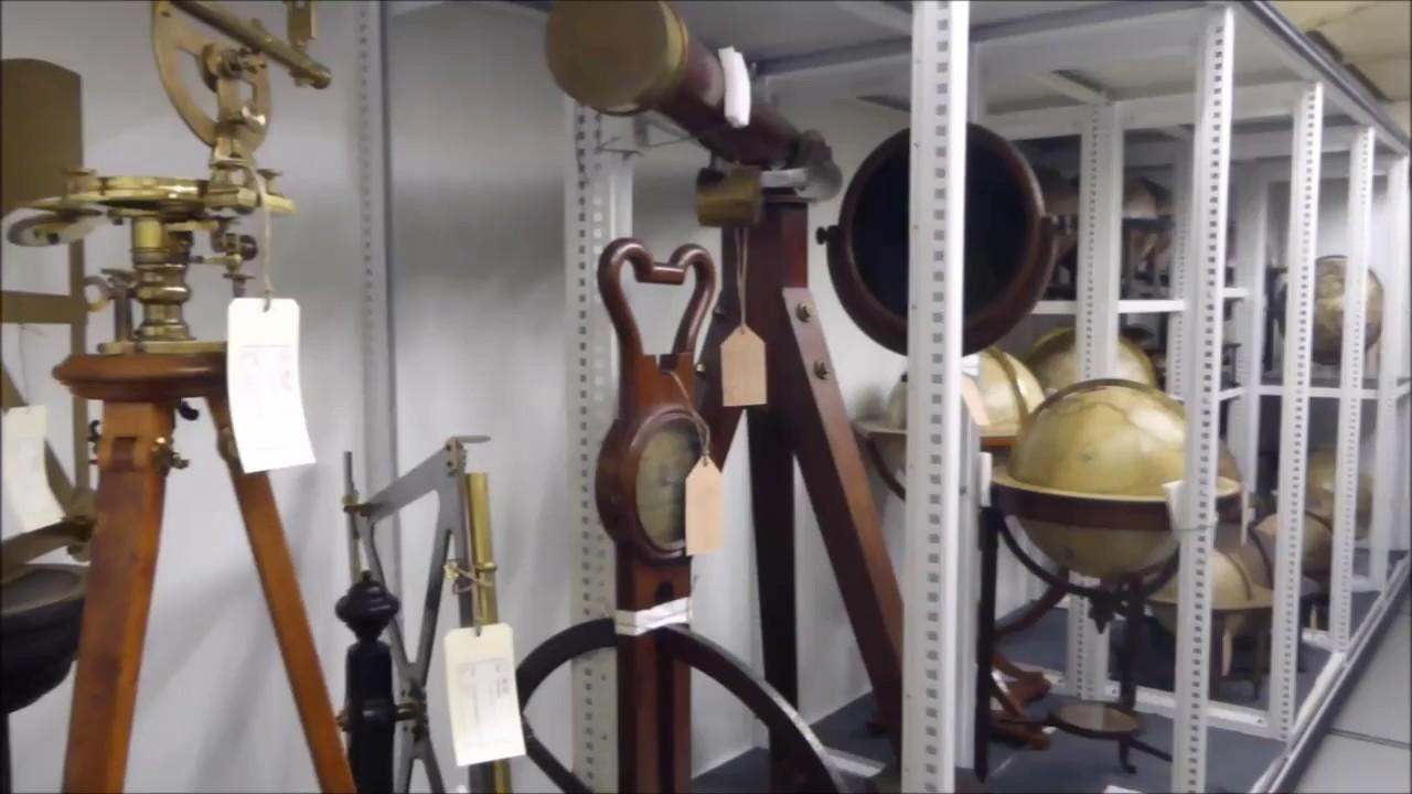 Ein blick ins depot wissenschaftliche instrumente und for Depot friedrichshafen