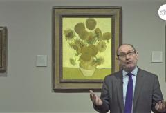 """Aufzeichnungen des """"Sunflower"""" Facebook Live Events zu Van Goghs Sonnenblumen"""
