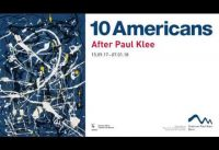 Trailer: 10 Americans. After Paul Klee