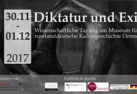 """""""Diktatur und Exil"""" – Wissenschaftliche Tagung am Museum für russlanddeutsche Kulturgeschichte Detmold"""