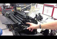 Maschinen im Museum – Platinenbohrer/-fräse in der Elektronikwerkstatt