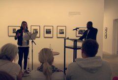 Message To The Future: Spoken Word Performance with Amina Abdulkadir & Henri-Michel Yéré