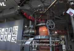 Die Spinnerei im Industriemuseum TextilWerk Bocholt