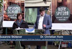 Jahresprogramm 2018 Schloss- und Kulturbetrieb Altenburg