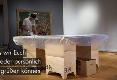 """Behind the scenes Ausstellung """"Hans Baluschek"""" im Bröhan-Museum"""