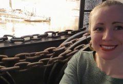 Das Kettenschleppschiff im Verkehrsmuseum Dresden