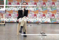 """Monika Grabuschnigg in der Ausstellung """"… von Brot, Wein, Autos, Sicherheit und Frieden"""" in der Kunsthalle Wien"""