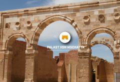 Die spektakuläre Fassade des Mschatta-Palastes