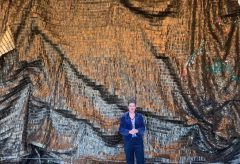 """El Anatsui. Triumphant Scale"" – The Beginning and the End, 2015"