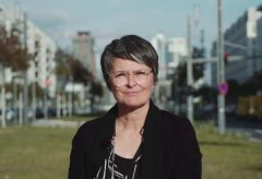Sandra Schäfer im Double Feature Interview der Schirn